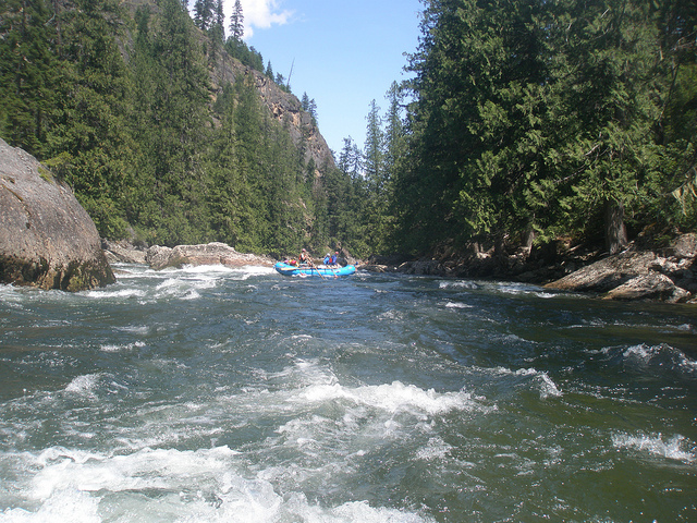 Selway River - Credit, US Forest Service